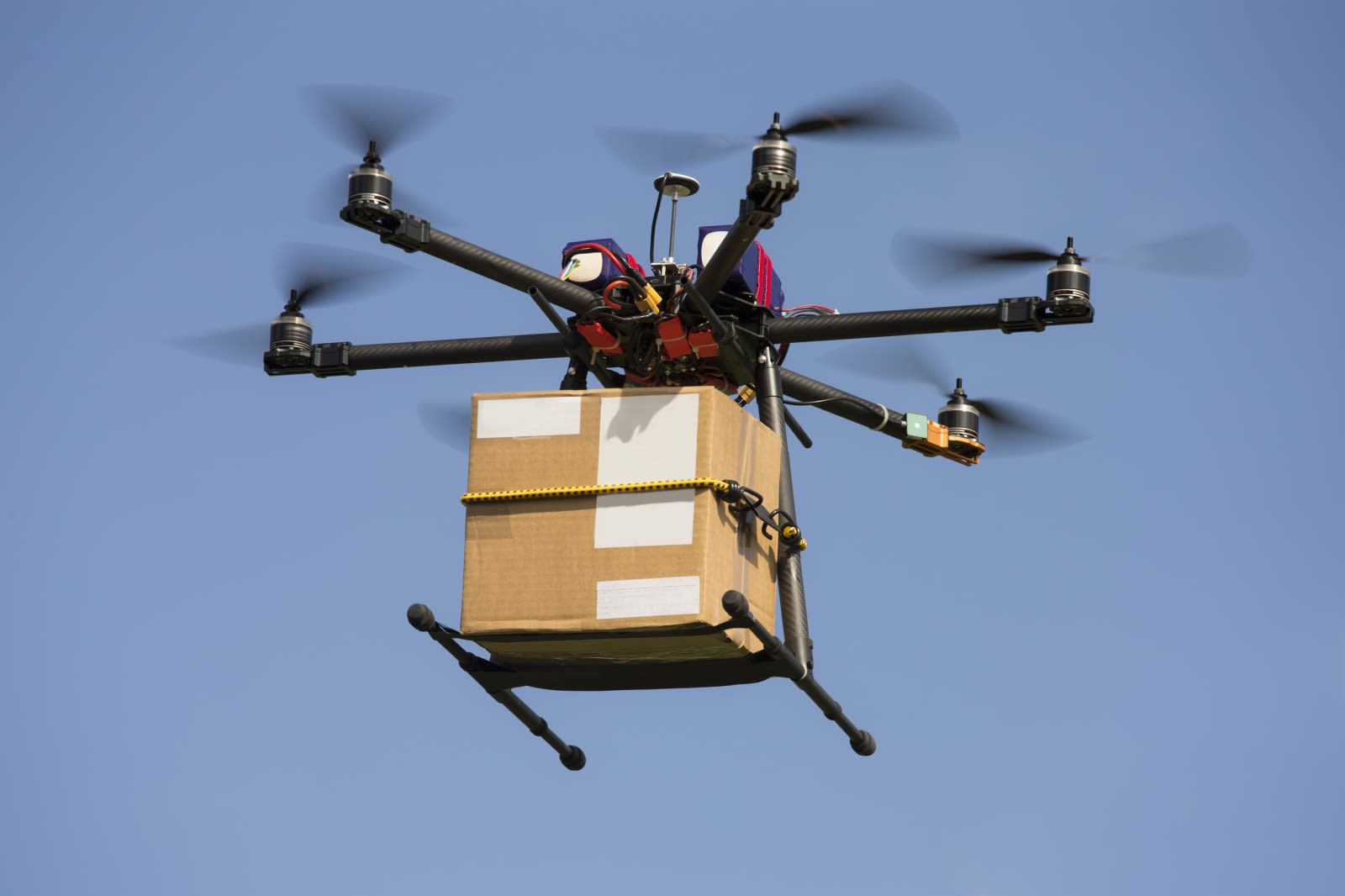 France is the first to use drones for its national mail service