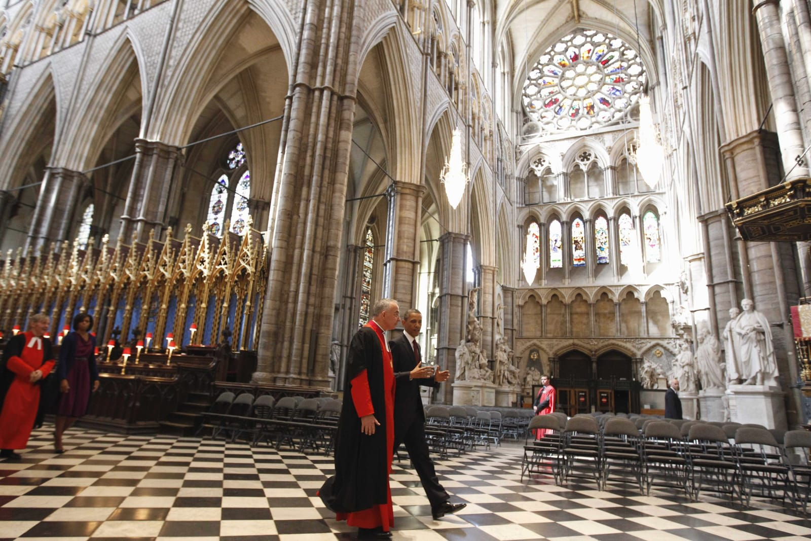Tour Westminster Abbey with Google Street View