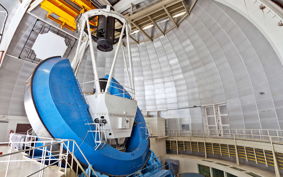 The Dark Energy Spectroscopic Instrument will 3D map the universe