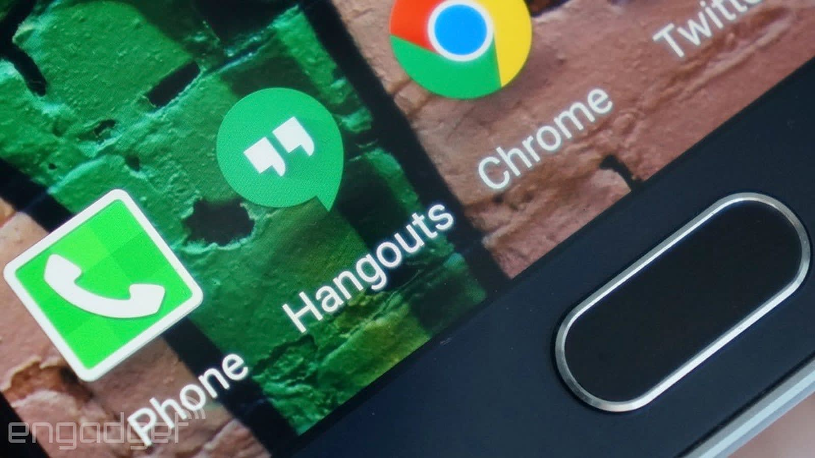 Consumer apps that rely on Google Hangouts won't work after