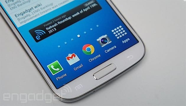 Samsung Galaxy S5 might come with a fingerprint sensor