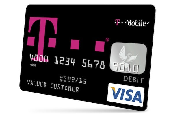 T Mobile S Mobile Money Blends Prepaid Visa Cards And No Fee