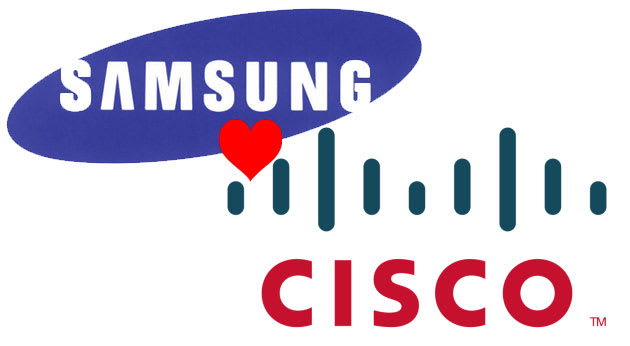 Samsung And Cisco Agree To Share Patents Sue Less