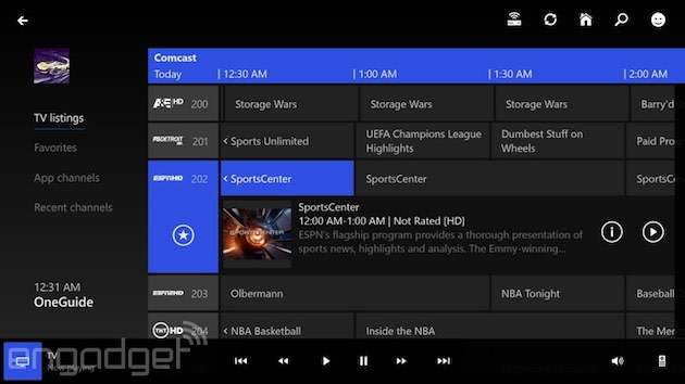 Xbox One SmartGlass beta apps bring TV controls to Android, Windows