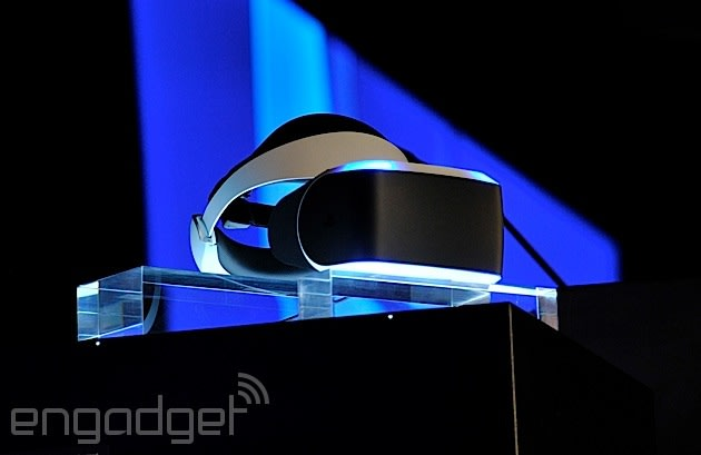 f9d68fb5054c The rumors are true  Sony s working on virtual reality. The hardware is  called