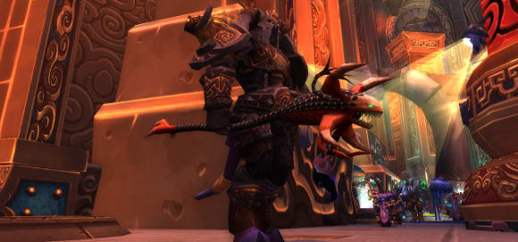 The Care and Feeding of Warriors: We do transmog better than