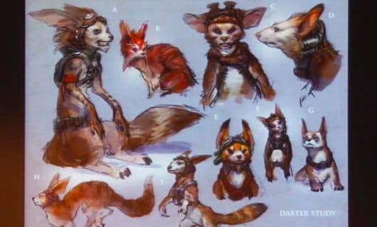 Ponder This Concept Art From Naughty Dog S Canned Jak And