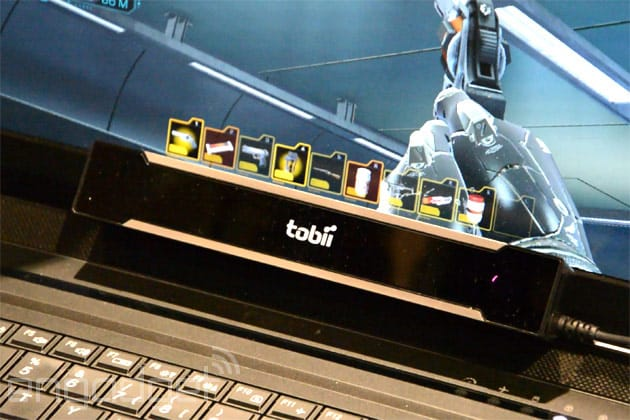 Eyes on with Tobii's gaming eye-tracking engine and