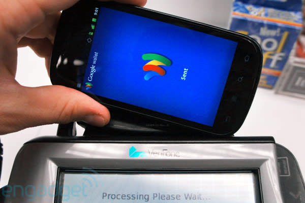 Google Wallet lets you capture credit card info with your smartphone camera