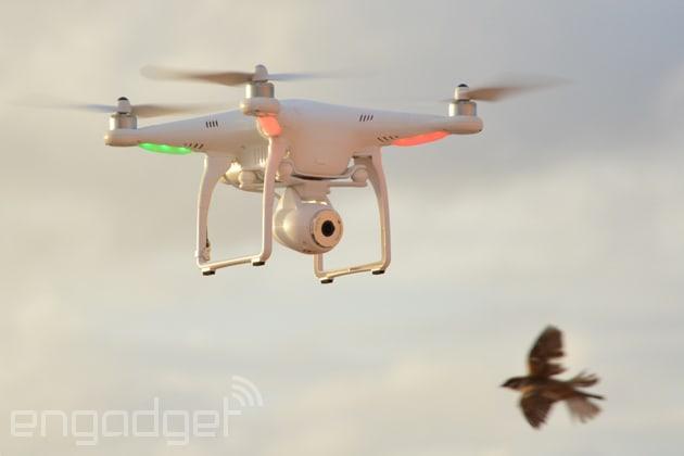 DJI's Phantom 2 Vision takes a stabilized camera to the sky