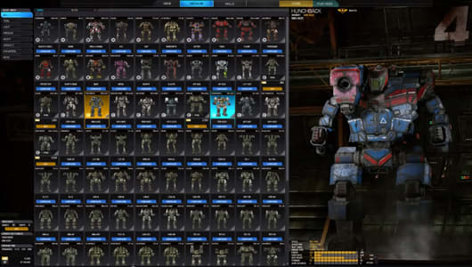 Take a peek at MechWarrior Online's UI 2 0 upgrade