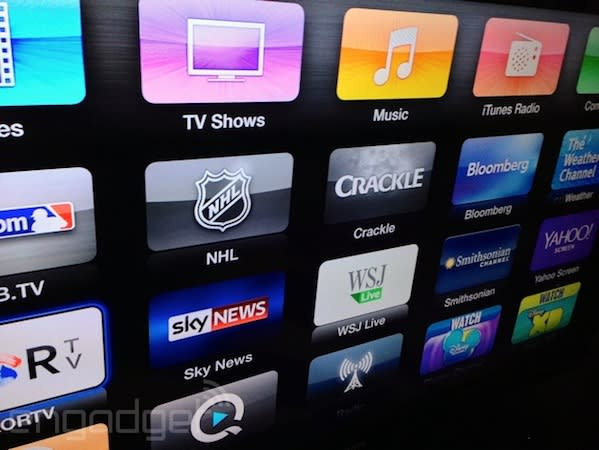 Apple TV adds Watch ABC, Crackle and Bloomberg apps