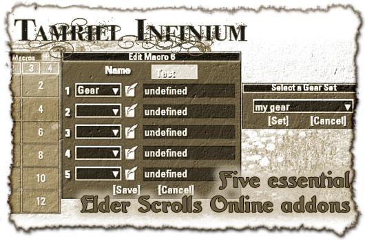Best Morrowind Mods 2020 Tamriel Infinium: Five essential Elder Scrolls Online addons