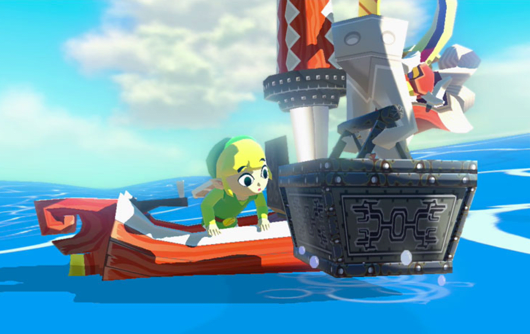 Zelda: Wind Waker HD graphics compared to Gamecube version