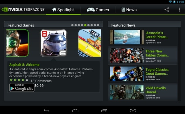 NVIDIA's mobile game portal now available for non-Tegra devices