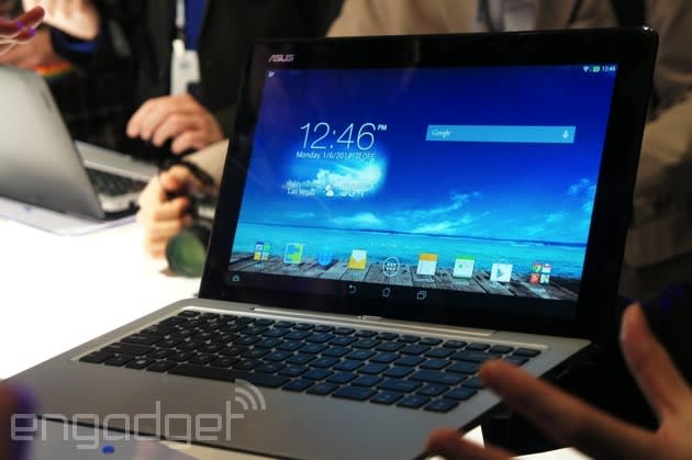 ASUS' Transformer Book Duet can switch between Android and Windows