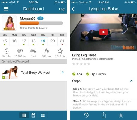 weighttraining com workout logger overhauled with new workout plans
