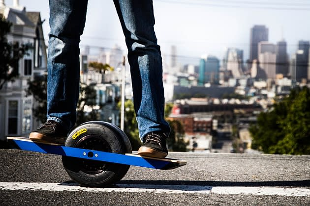 If The Idea Of Combining A Segway Skateboard And Unicycle Sounds Like Your Fun You Might Want To Check Out Onewheel