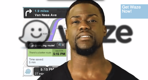 Waze partners up with Universal Pictures to let celebrity