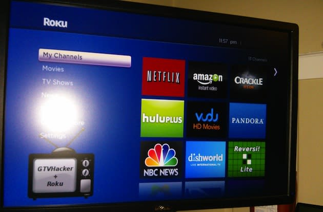 Roku player software cracked open temporarily, root now to run XBMC