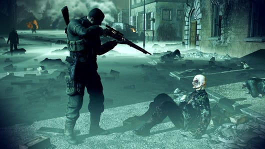 Sniper Elite: Nazi Zombie Army games coming to consoles
