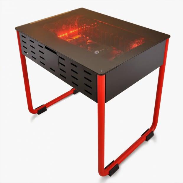 Pc Im Tisch Gaming Prototyp Dk01 Von Lian Li