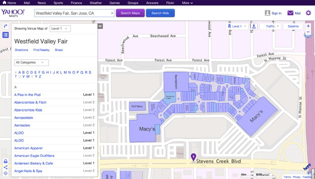 Yahoo Maps adds indoor navigation powered by Nokia Here on yahoo! news, trade show maps, apple maps, zillow maps, yahoo! sports, microsoft maps, yahoo! search, mapquest maps, yahoo! directory, msn maps, live maps, bing maps, nokia maps, bloomberg maps, yahoo! briefcase, yahoo! widget engine, rim maps, yahoo! mail, cia world factbook maps, usa today maps, yahoo! video, yahoo! groups, web mapping, yahoo! pipes, yahoo meme, google maps, gulliver's travels maps, goodle maps, windows maps, expedia maps, brazil maps,