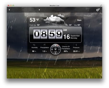 Mac App of the Week: Weather Live is a one-stop weather app for your Mac