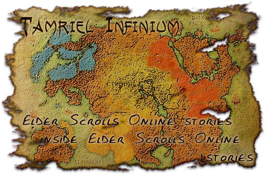 Tamriel Infinium: Elder Scrolls Online stories inside Elder