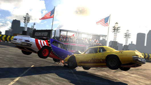 Grid 2 enters the demolition derby with free DLC pack