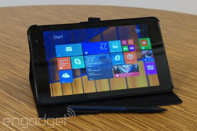 Dell Venue 8 Pro review: a good Windows tablet, but wait for