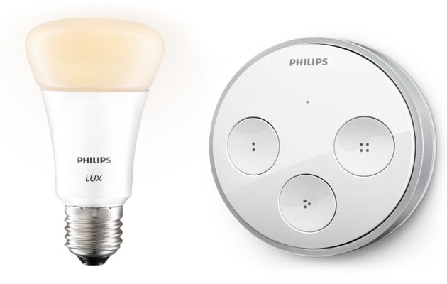 Philips Adds Web Connected Tap Switch White Only Lux Bulb