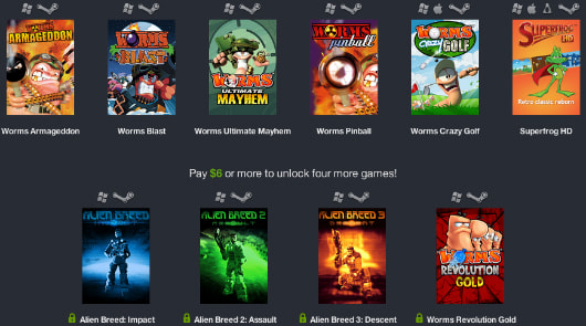 Humble Weekly Sale opens a can of Worms, Alien Breed