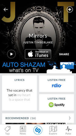 Shazam's latest update increases speed and battery life while
