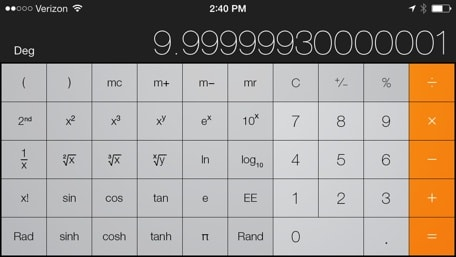 Today S Date Is 11 12 13 So It Only Ing That We Spend Some Time With The Iphone Calculator In An Earlier Post Covered Cool