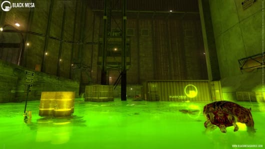 Half-Life revamp Black Mesa head(crab)s to Steam for a 'low