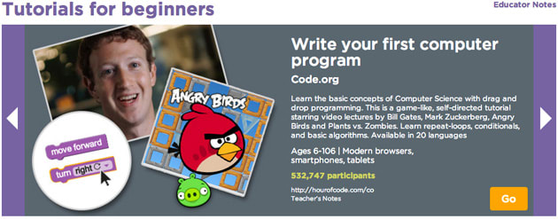 Hour of Code campaign teaches programming in 30,000 US