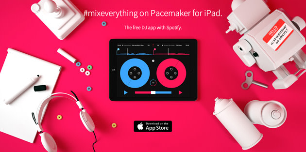 Pacemaker DJ app for iPad swaps your record bag for your