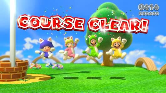 How Super Mario 3D World masks co-op in chaos