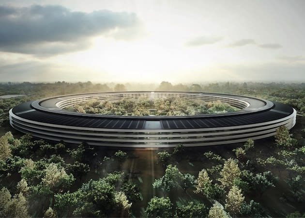 The spaceship is cleared for landing, Cupertino approves new Apple HQ