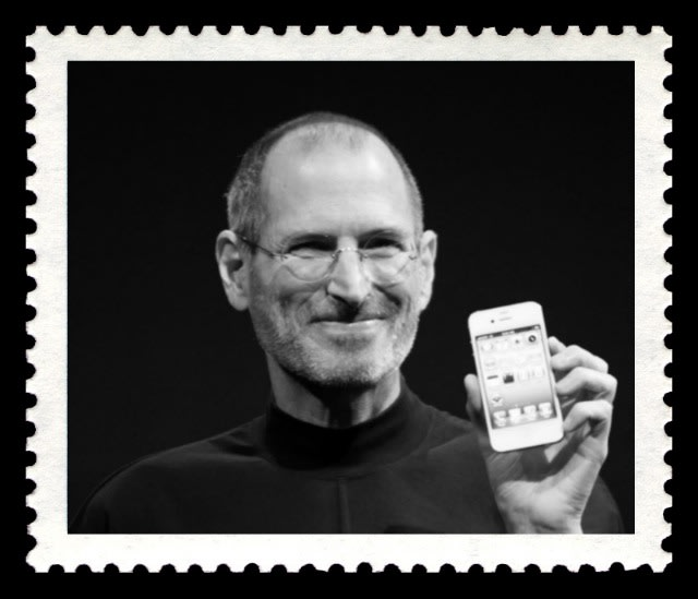 To Celebrate The Life Of Tech Icon Steve Jobs In A New Analog Way By Sending Snail Mail US Postal Service Has Approved Commemorative Stamp