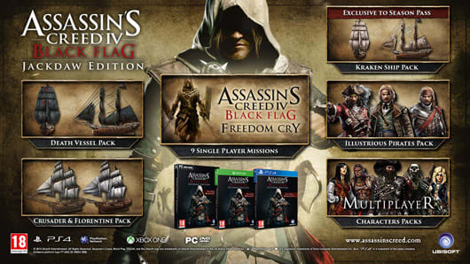 Ubisoft reveals Assassin's Creed 4: Jackdaw Edition retail