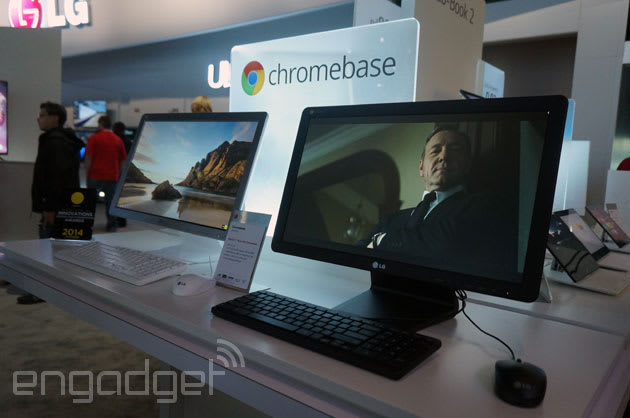 LG Chromebase: Handling Chrome OS on an all-in-one (video)