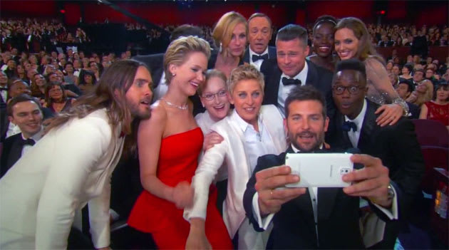 new styles d9d8e faf21 Samsung debuts its first Galaxy S5 ad during the Oscars and turns ...