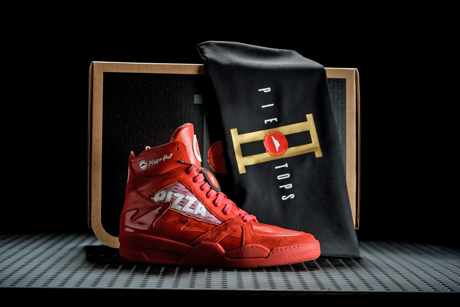 4c13cfb7b88d8 Pizza Hut's latest pizza-ordering shoes can also pause your TV