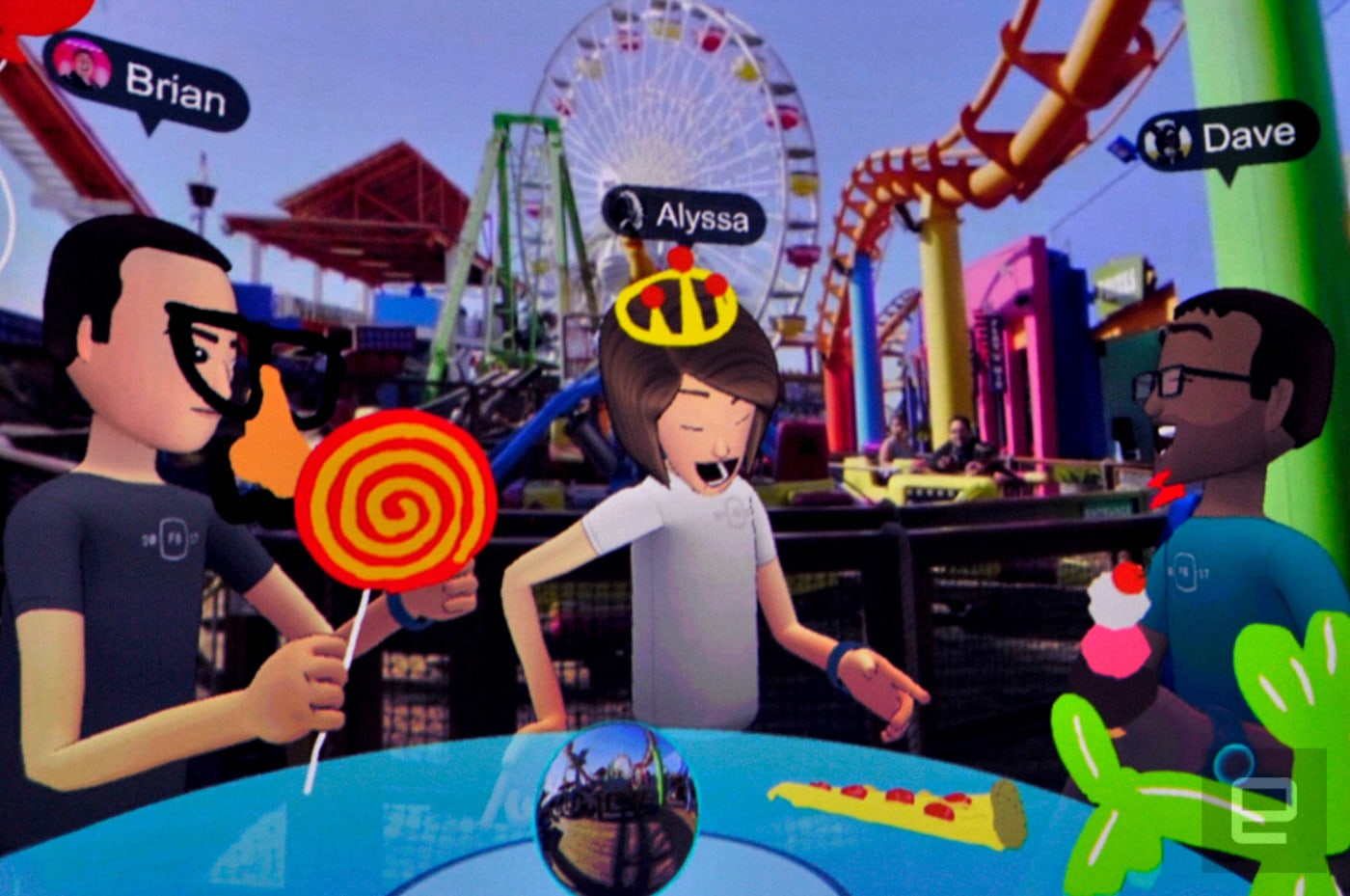 Facebook Spaces VR parties are available for Rift owners today