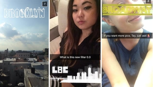 Snapchat tests stickers that only unlock when you're in