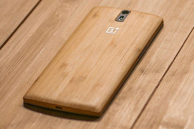buy popular 3ab9e 08506 Give your OnePlus One a bamboo back for $49