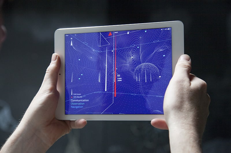 See the radio waves constantly bathing you with this app