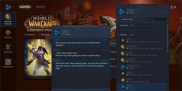 Chat Now Enabled In Battlenet Launcher Window